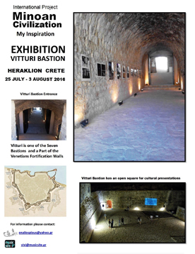 Our Location Greece.Design,Konzept/Kunst und Kalligraphie von J.Kühn für das internationale Kunstprojekt 2016 in Heraklion und Paris